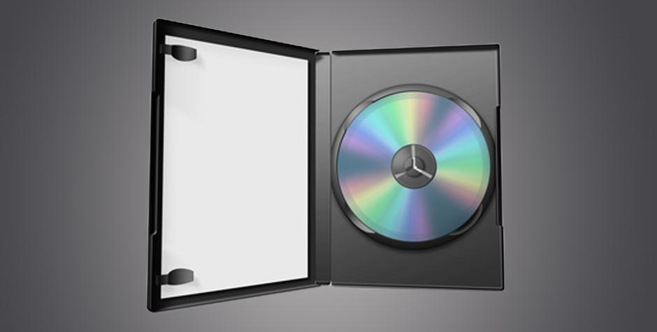 DVD-Box schwarz/anthrazit